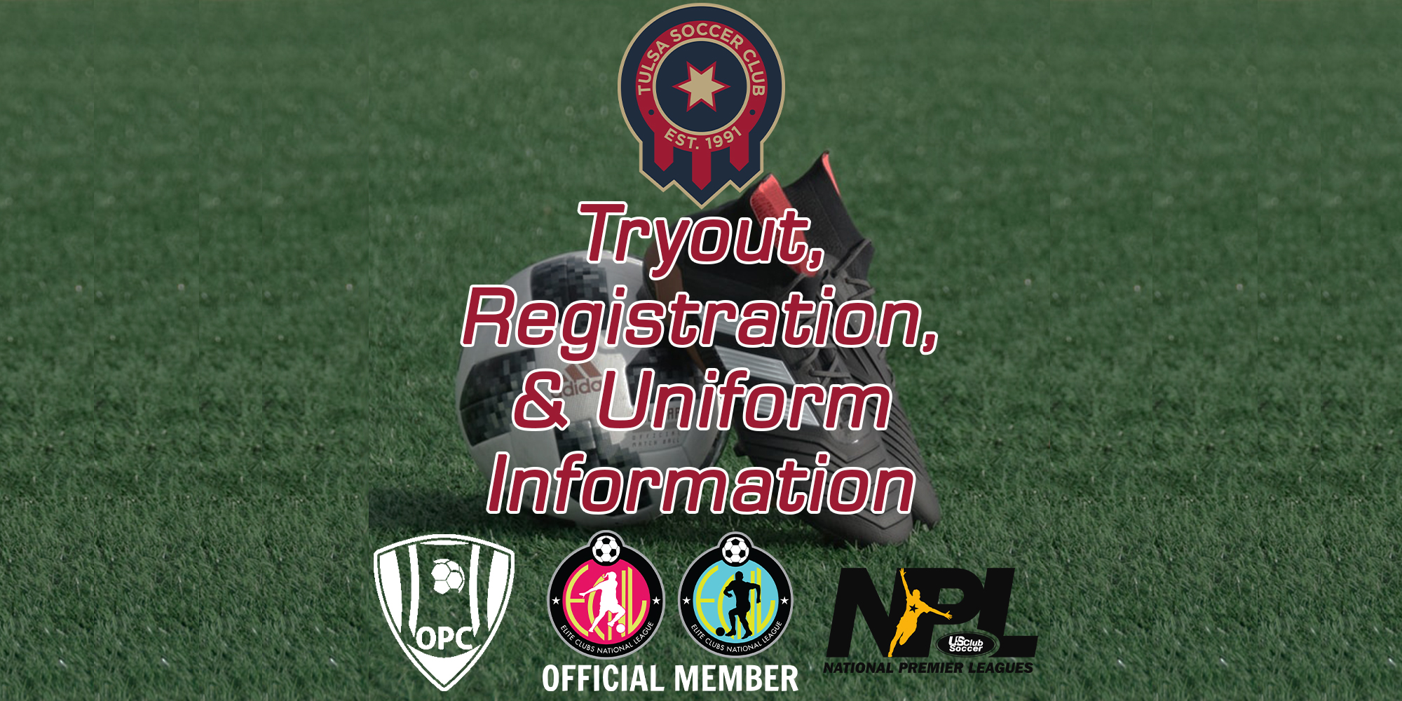 2020 Tulsa SC Tryout Information